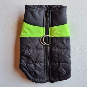 NWOT Pet Dog Coat Jacket Full Zip Size Small